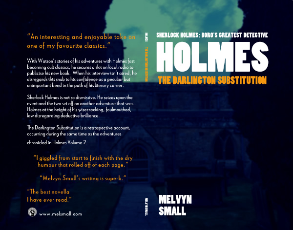 Holmes: The Darlington Substitution cover spread